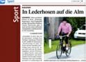 Presseberichte - Almkoenig Radbergrennen in Eidenberg